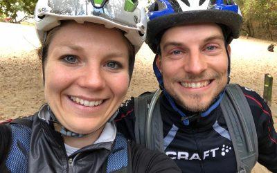 Coaching on the bike met Sanne van Paassen